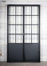 ijzeren deuren en ramen steel-frame doors en windows bij ...