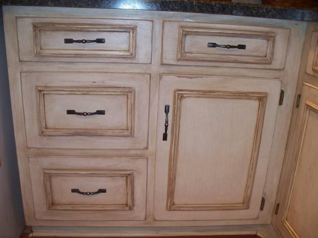 Before and afters clients paint and glaze their kitchen cabinets