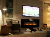 In Wall Electric Fireplace and TV | Creative Sleeping ...