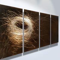 Metal Art Wall Art Decor Abstract Contemporary Modern ...