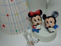 Vintage 1984 WALT DISNEY Baby Mickey Minnie Mouse Nursery ...