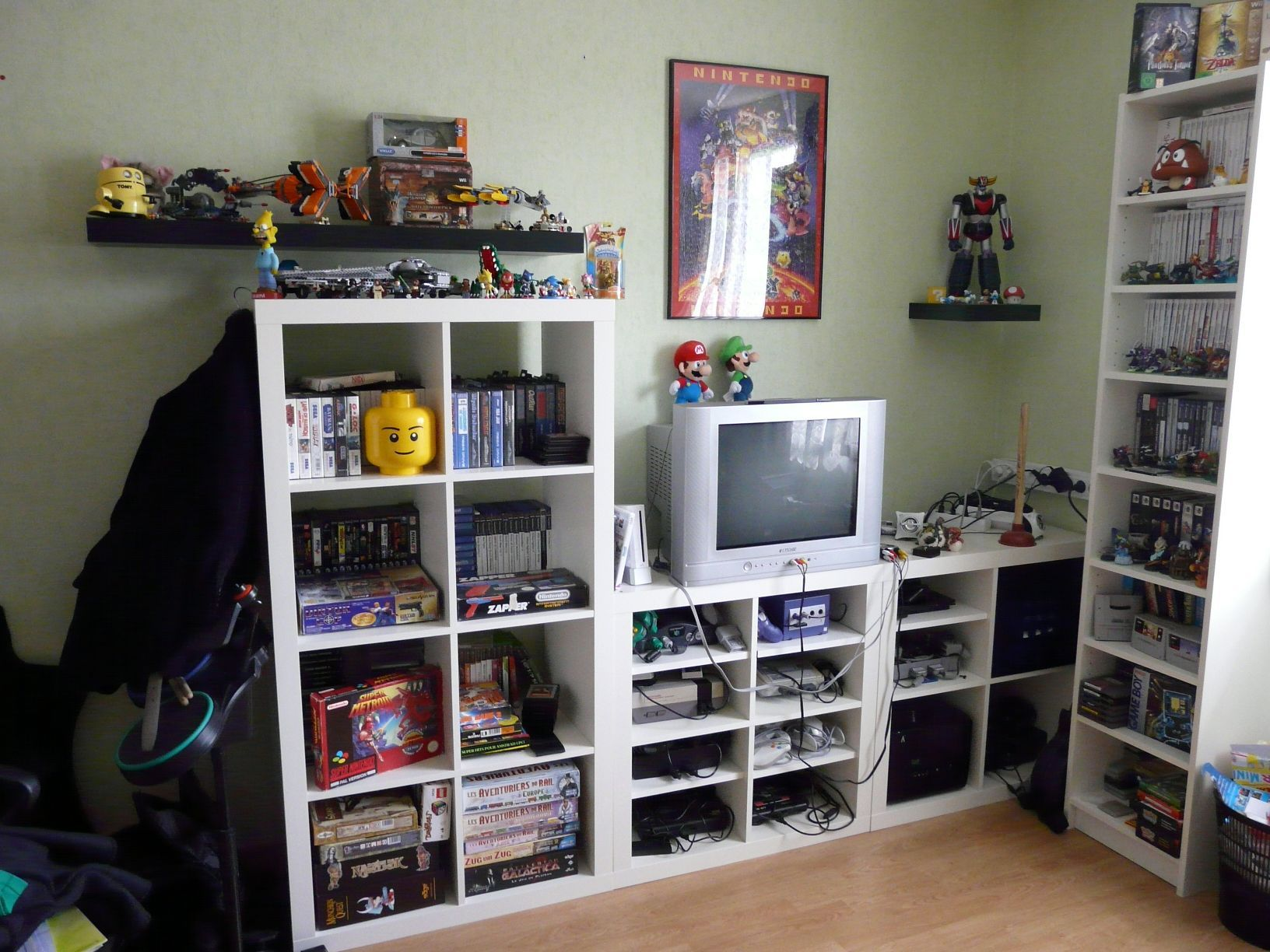 Chambre Gamer Gaming Room Gaming Room 2 Video Games Pinterest
