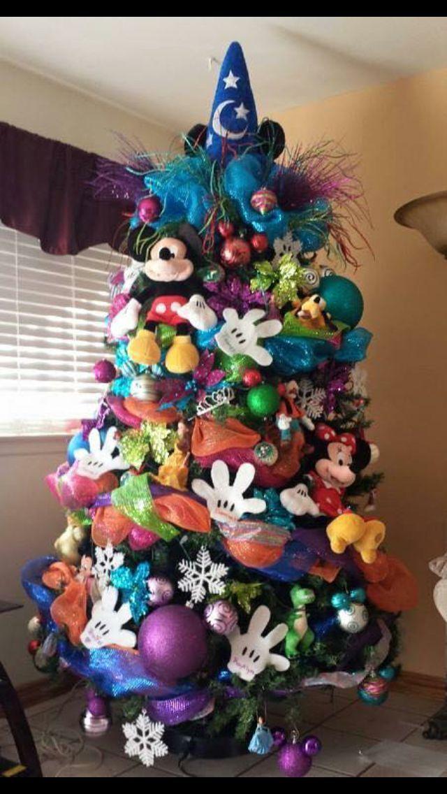 The ultimate Disney Mickey Mouse Christmas tree! Itu0027s beginning - disney christmas decorations