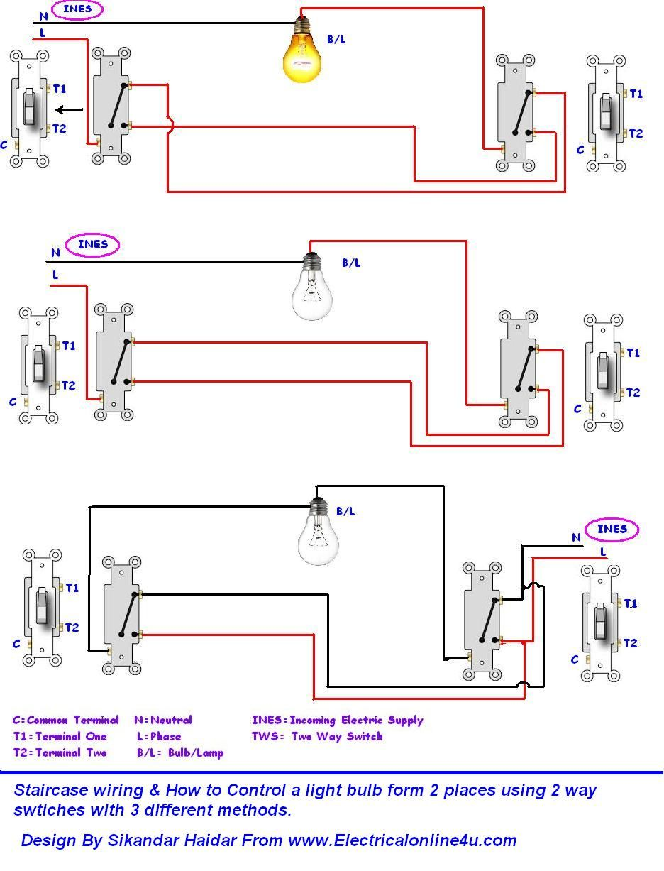 electrical house wiring methods
