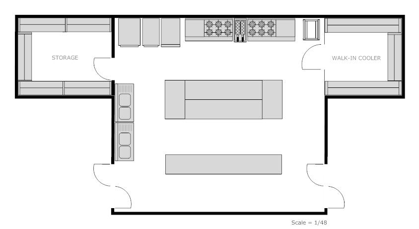 commercial kitchen layout drawings dimensions afreakatheart floor - kitchen design plans
