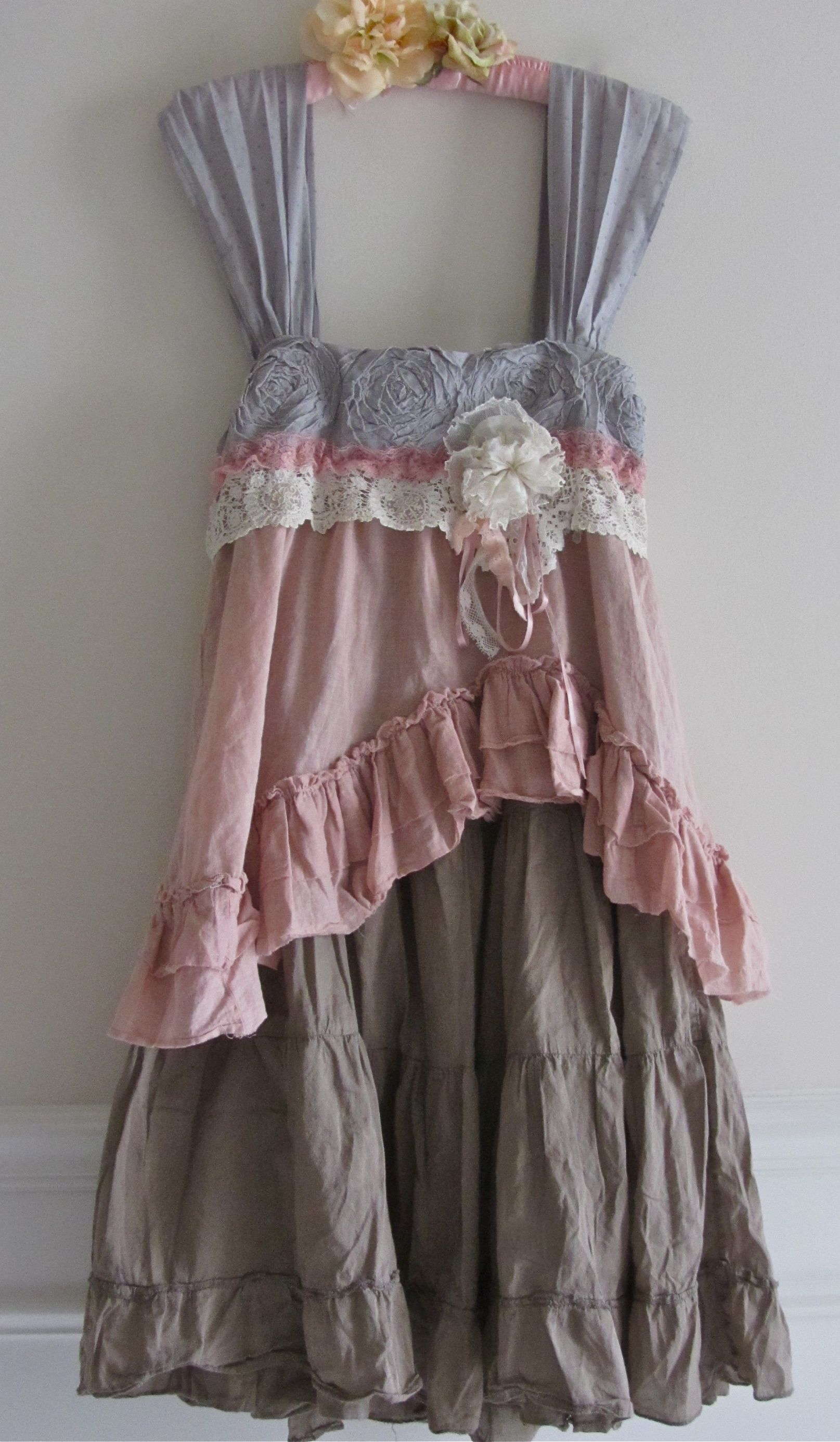 Shabby Chic Look French Sugar Dress Shabby Sweet And Chic Ruffled Ruffle