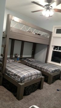 Triple bunk beds for boys | House stuff | Pinterest ...