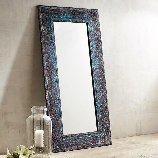 Pier 1 Imports Midnight Splendor Mosaic Floor Mirror ($349 - home decor mirrors