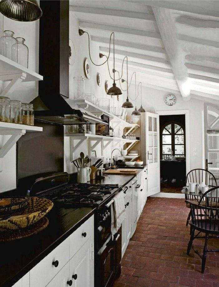 stauraum küche große küche hat viel zu bieten Küche Möbel - moderne kuche praktische kuchengerate