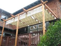 shade structures for patios | Acme Sunshades | Retractable ...