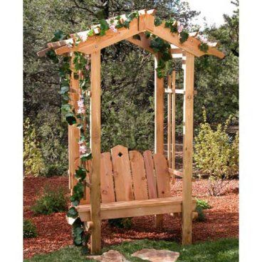 pictures of arbors with plans An Arbor for You - SimplyArbors - garden arbor plans designs