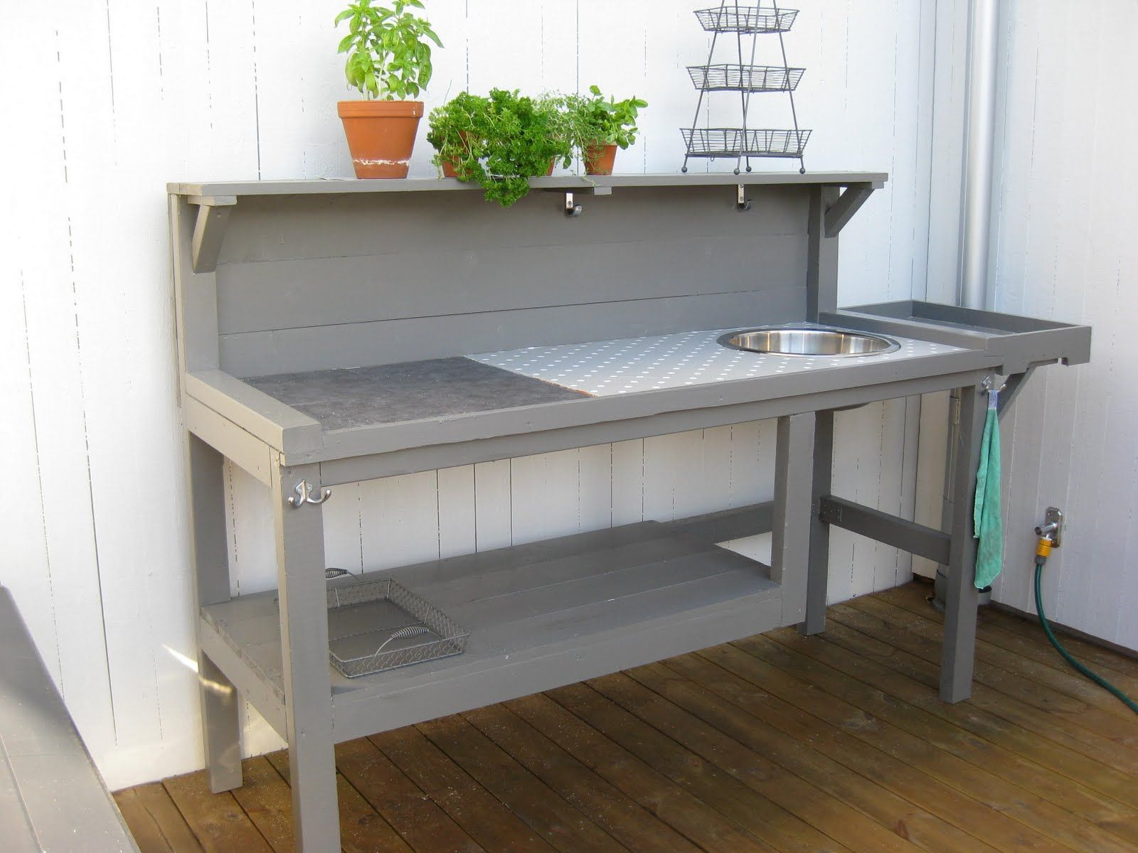 Diy Küche Palette Utekök Outdoor Kitchen Outdoorkitchen Pinterest
