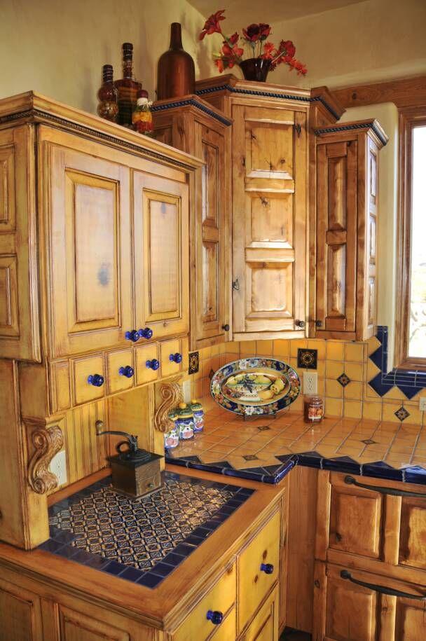 mexican style kitchen talavera tile Southwest Living Pinterest - mexican kitchen design