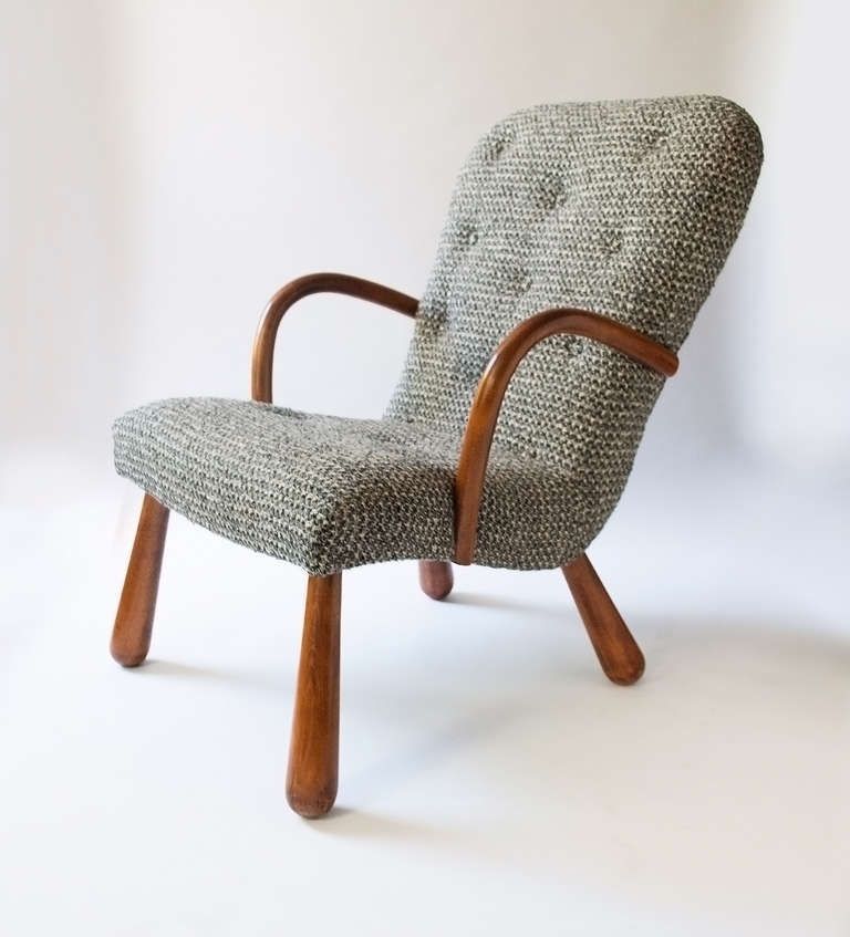 Philip Arctander armchair from Nordisk Staal \ Møbel Central - esszimmer 1940