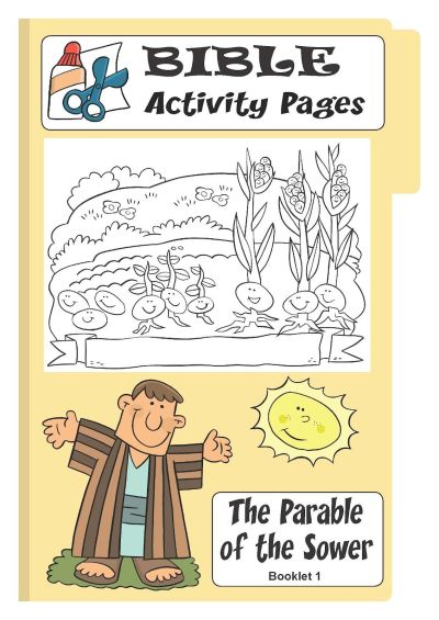 BIBLE: THE SOWER on Pinterest   Bible Stories, Visual Aids and Bible