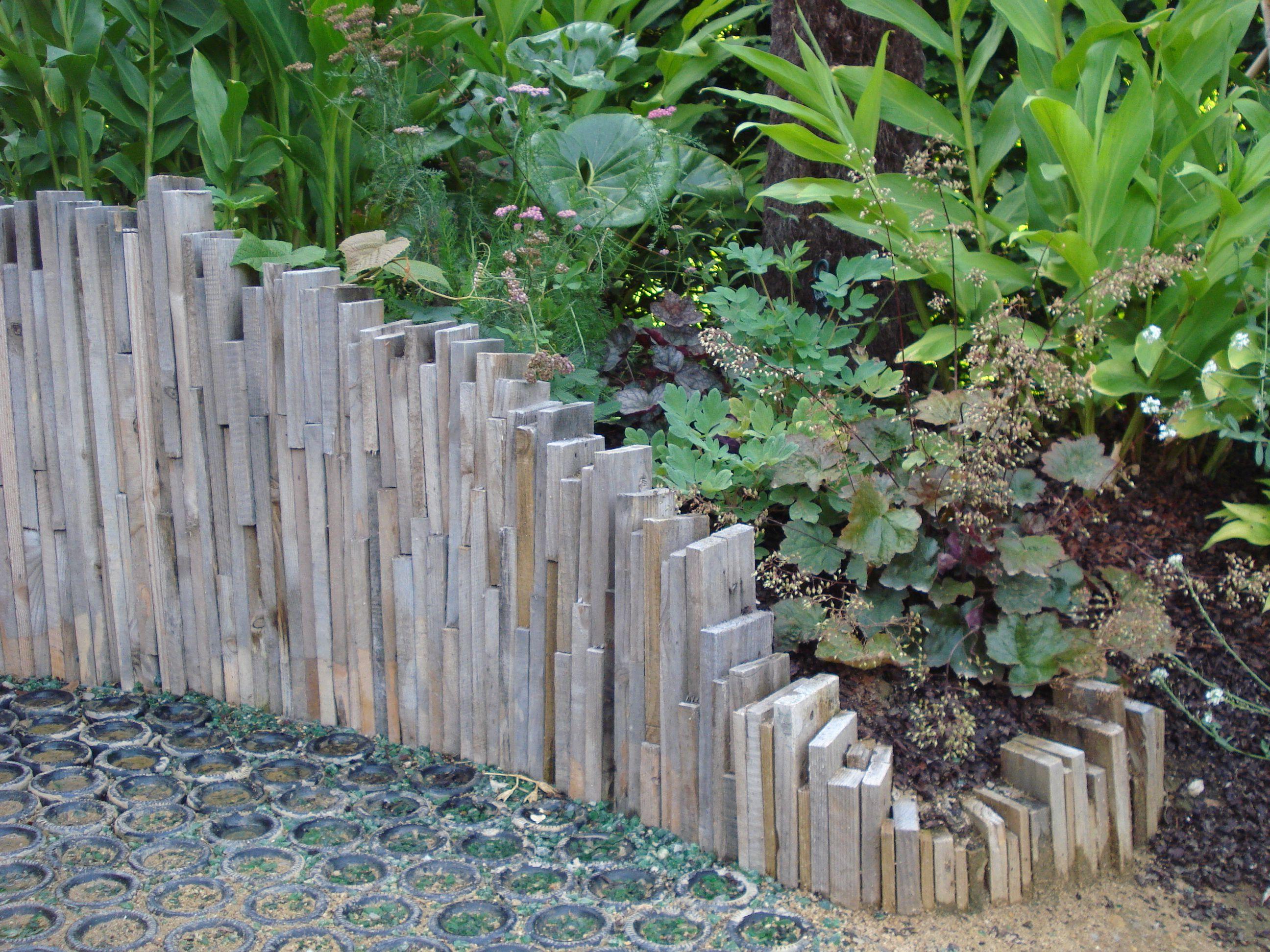 Bordure Jardin Ecolat | Bordures De Jardin 20 Idées Originales ...