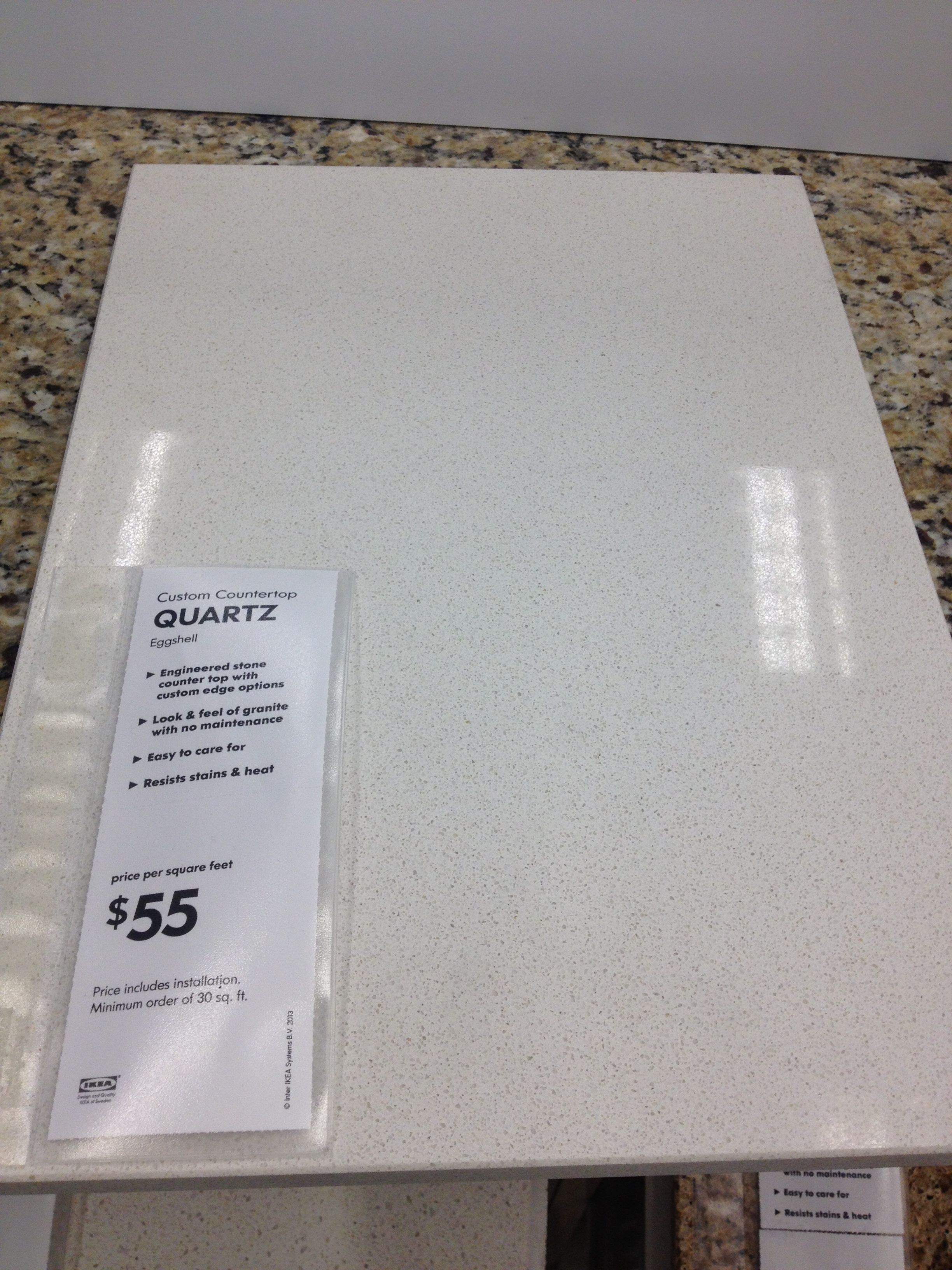 Quartz Countertop Prices Canada An Affordable And Innocuous Countertop Option Ikea 39s