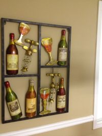 Wine metal wall art for the Kitchen   Metal wall art ...