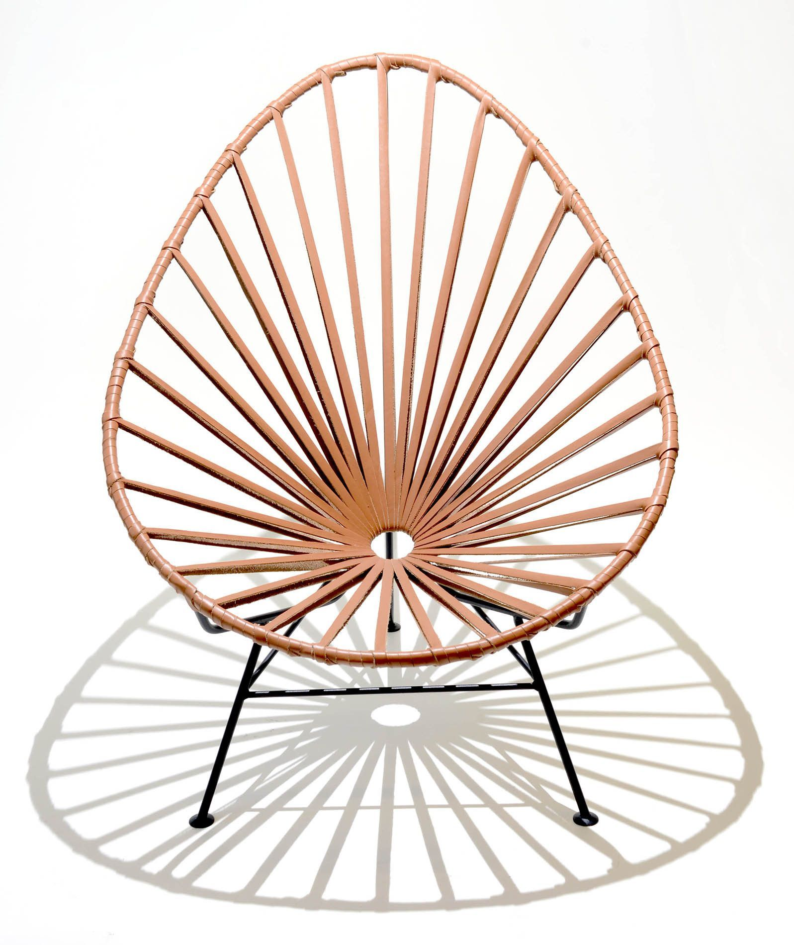 Mexico Chair Schaukelstuhl Acapulco Lounge Chair Leather Guadalajara Mexicans And Architects