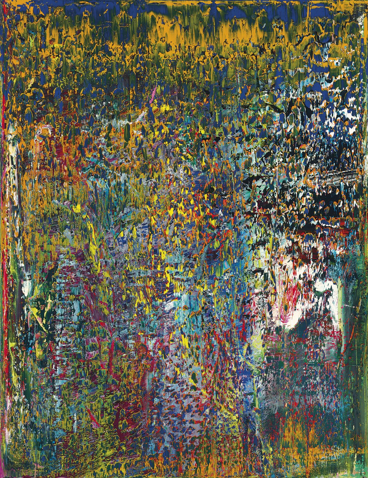 Bild Modern Art Gerhard Richter B 1932 Abstraktes Bild Post War And