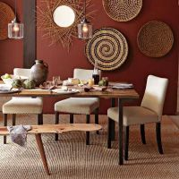 african dining room decor | Modern Wall Decoration With ...