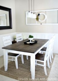 DIY Dining Table and Chairs Makeovers