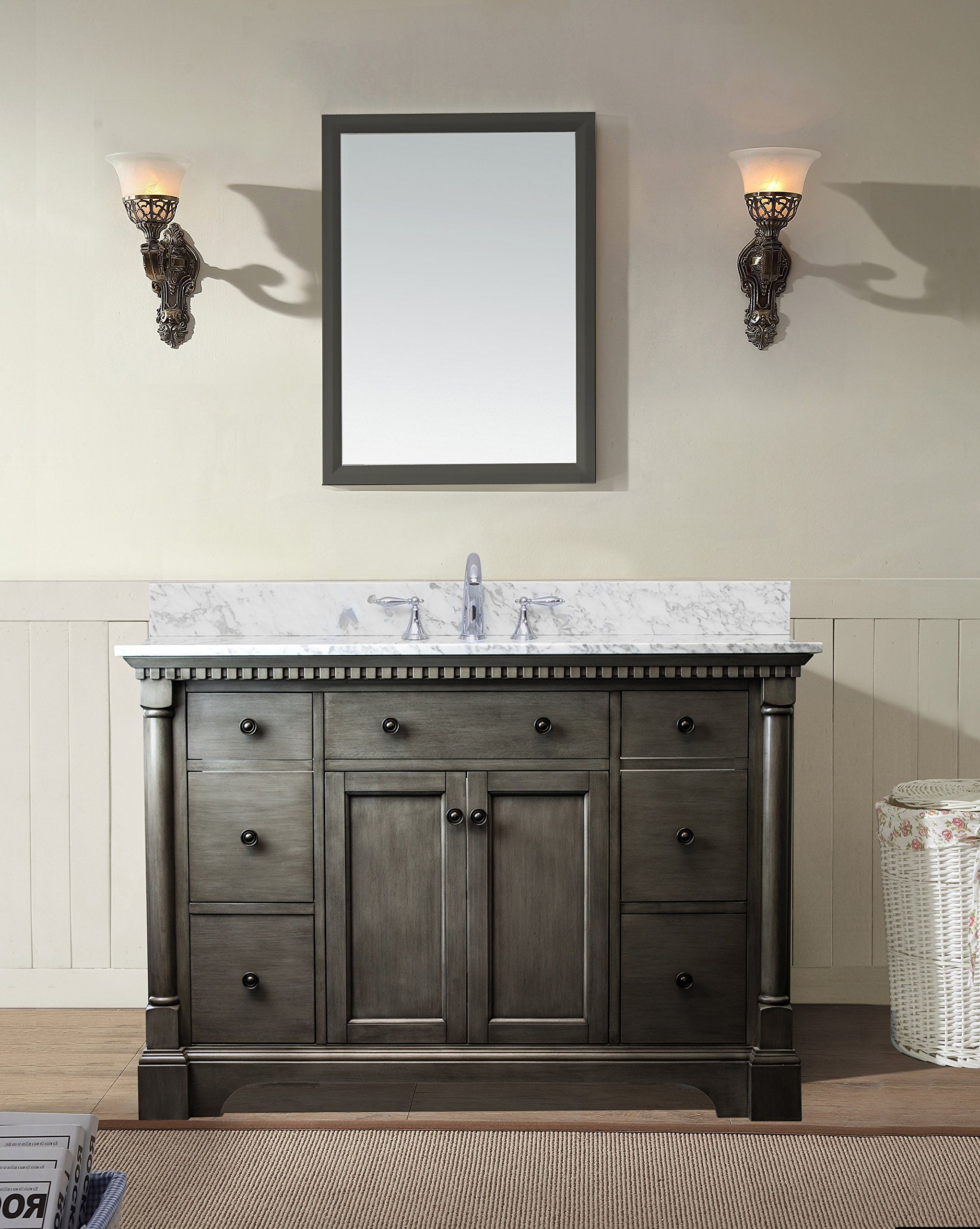 Stella 49 bathroom vanity set antique gray awesome products selected by anna