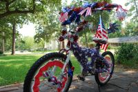 4th of July Bike Decoration | 4th of July | Pinterest ...