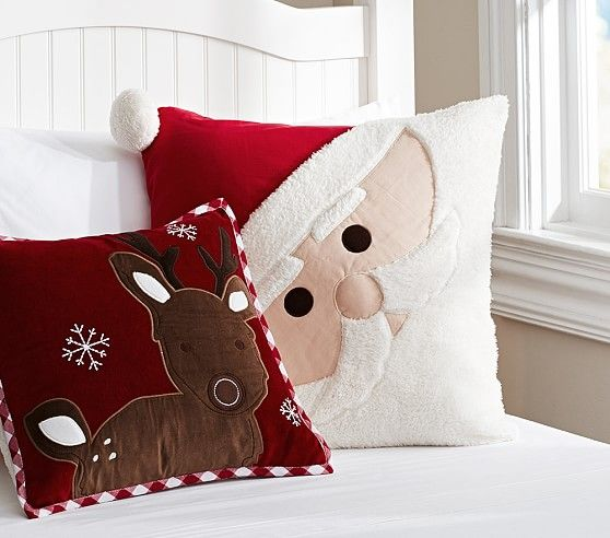 At Pottery Barn Kids, we take great pride in the quality and - decorative christmas pillows
