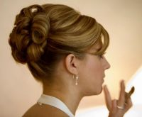 Wedding Updos For Short Length Hair