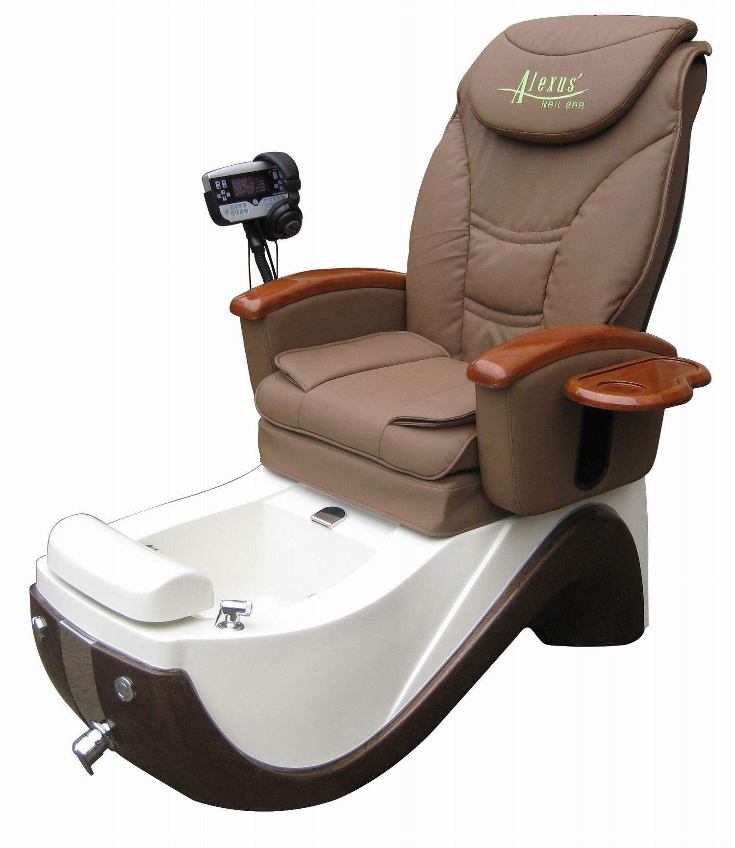 Luxury spa pedicure chair