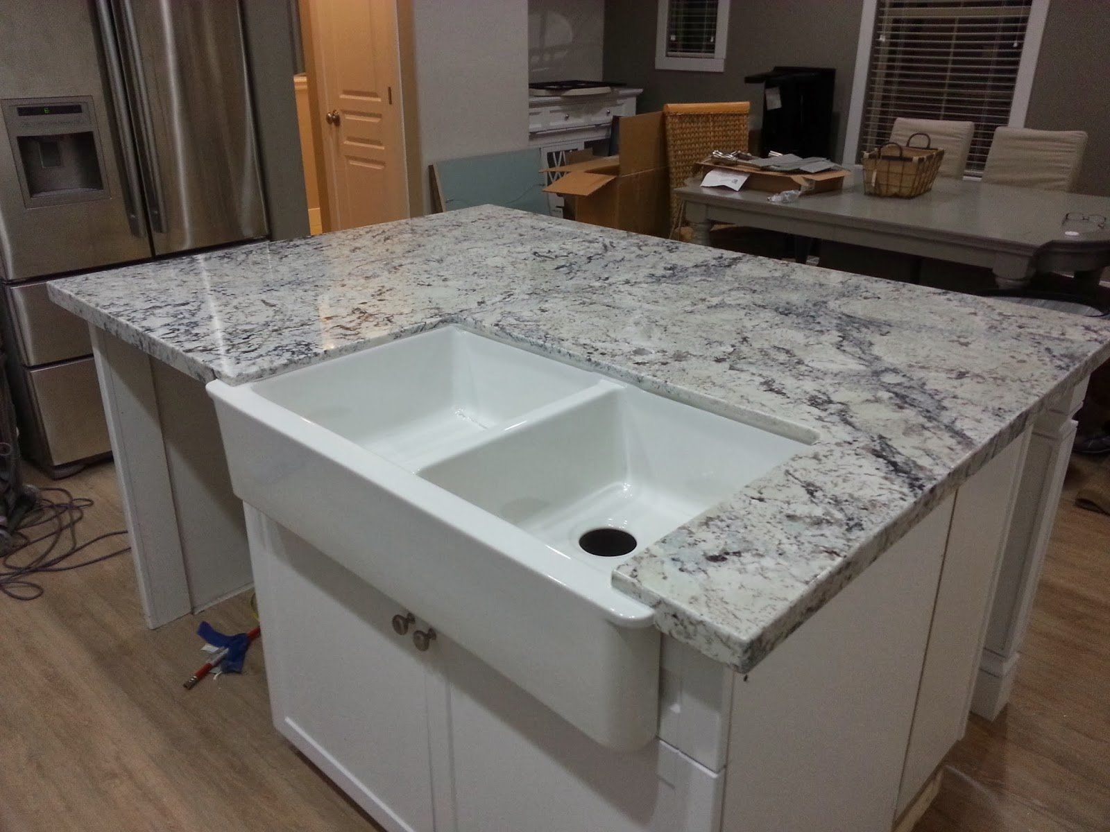 White And Grey Marble Countertops Granite Countertops Pros And Cons Adorable Grey With