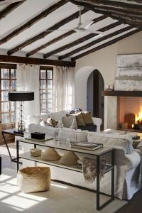 Beautiful Living Room with cozy fireplace...Gorgeous ...