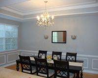 Dining Room Tray Ceiling Design | Home is Where My