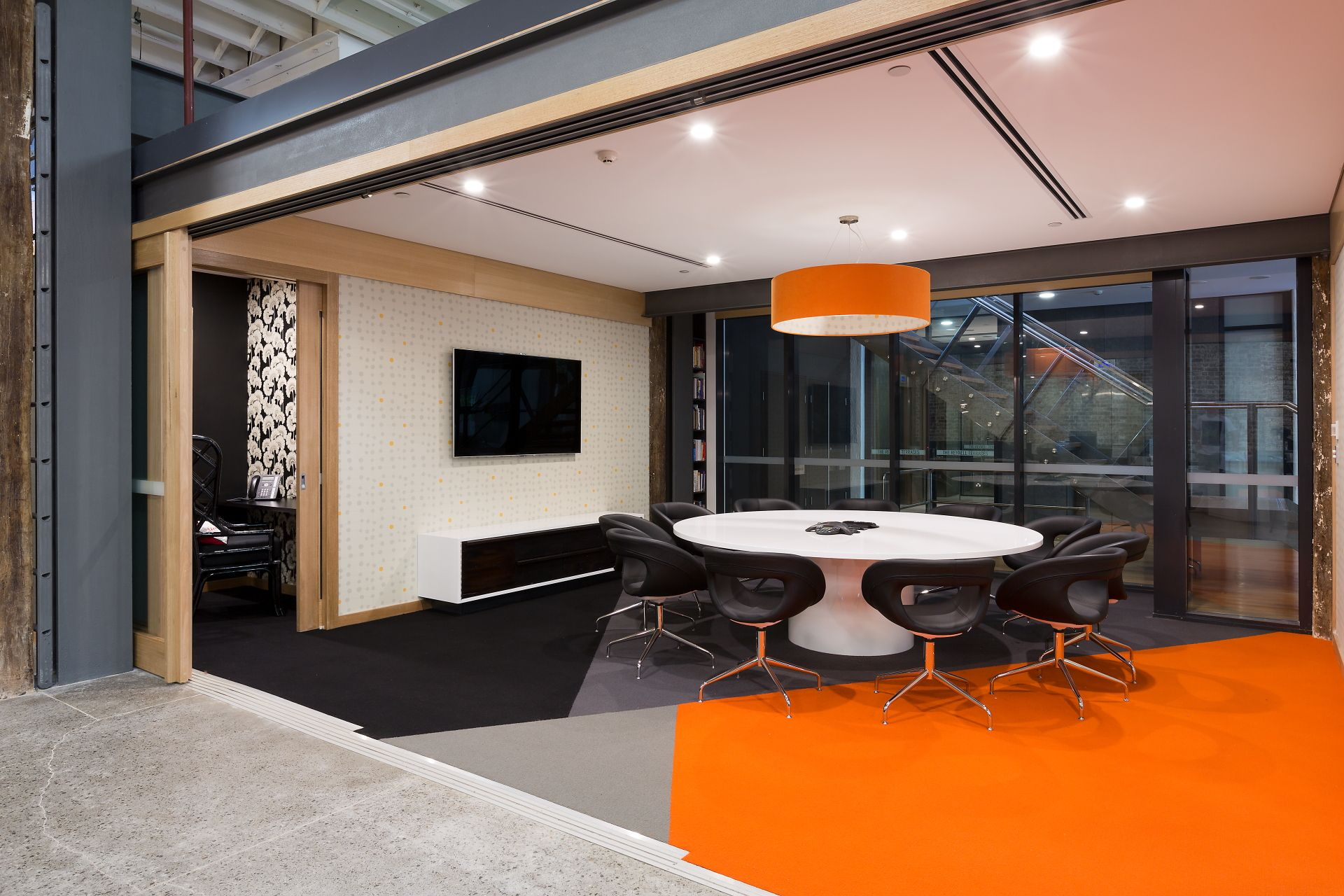 Rustic Modern Office Project By Sarah Tilley For Black Dot Sydney Australia