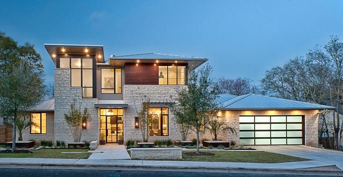 Cozy Luxury Home by Cornerstone Architects Architects, House - luxury home design