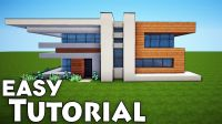 Minecraft: Small Easy Modern House Tutorial - How to Build ...