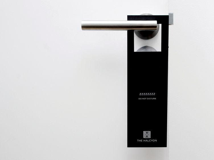 hotel door hanger - Google Search Hospitality Signage - retail and consumer door hanger template
