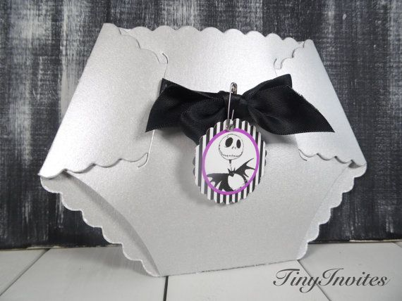 Nightmare before Christmas Baby Shower by TinyInvites on Etsy - nightmare before christmas baby shower decorations