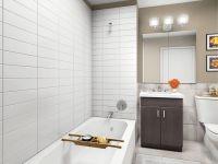 stacked tile floor | laundry room inspiration | Pinterest ...