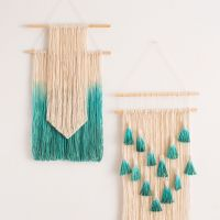 2 Simple Ways to Make Wall Art With String | Diy wall art ...