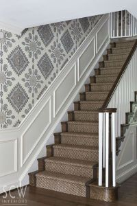 23+ Pretty Painted Stairs Ideas to Inspire your Home ...