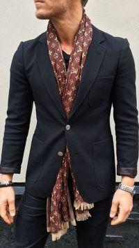 LV silk scarf | He Styles || Menswear Inspiration ...