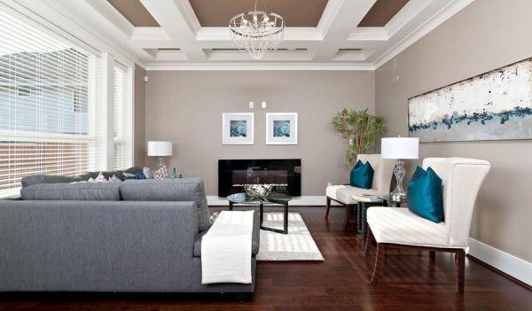 Fascinating Turquoise Decorating Ideas Luxury Living Room Grey - grey sofa living room ideas