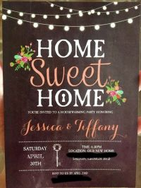 Our Housewarming Invitations! | New house invites ...