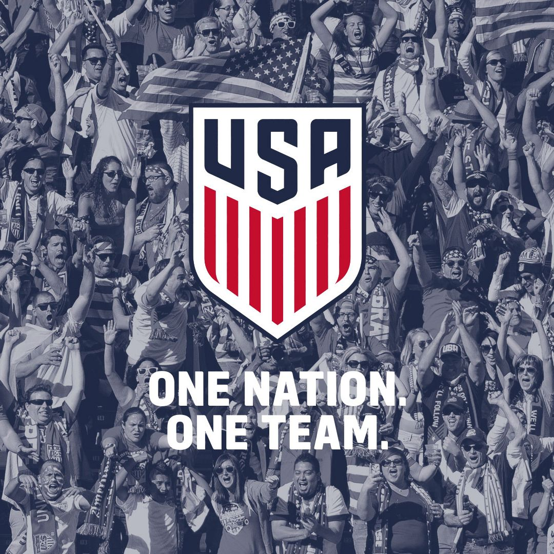 Womans Soccer Backrounds Wallpaper Quotes Us Soccer New Crest One Nation One Team Us Soccer