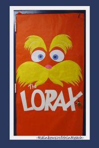 Classroom Door Decoration for Dr. Seuss book The Lorax ...