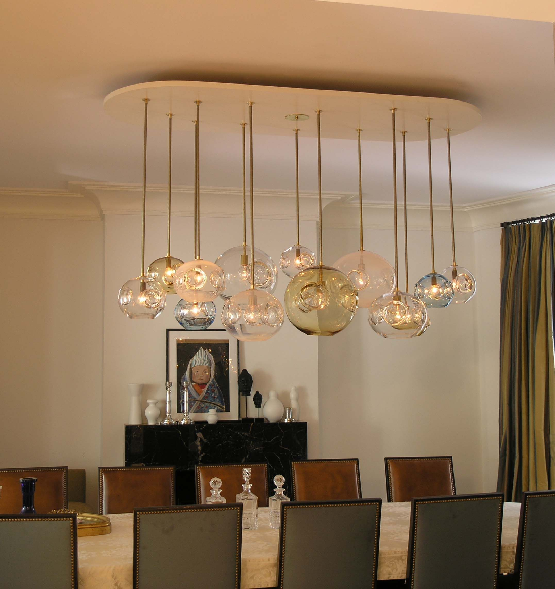 Modern Dining Chandeliers Attractive And Lovely Modern Dining Room Lighting Ideas