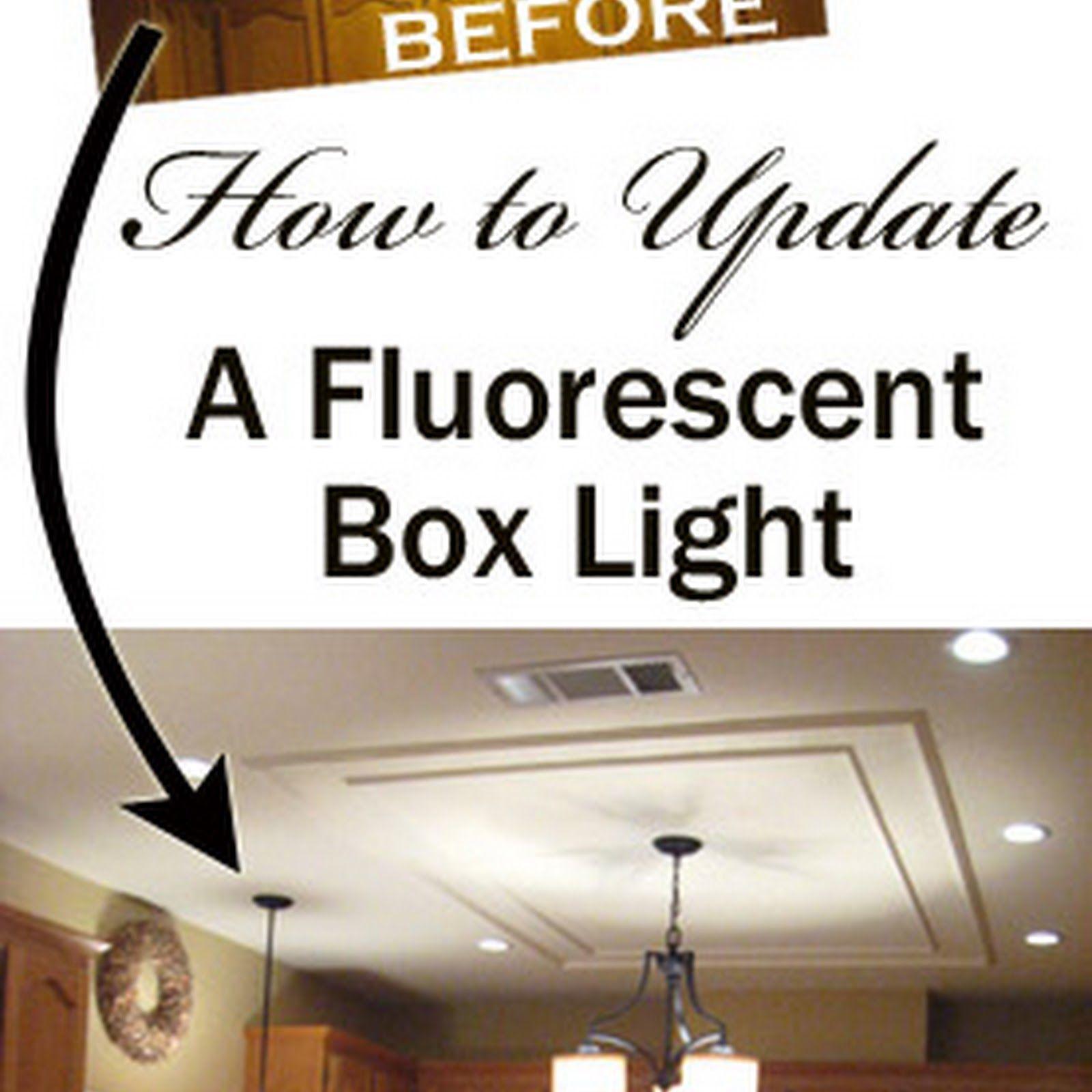 fluorescent kitchen light fixtures Lighting