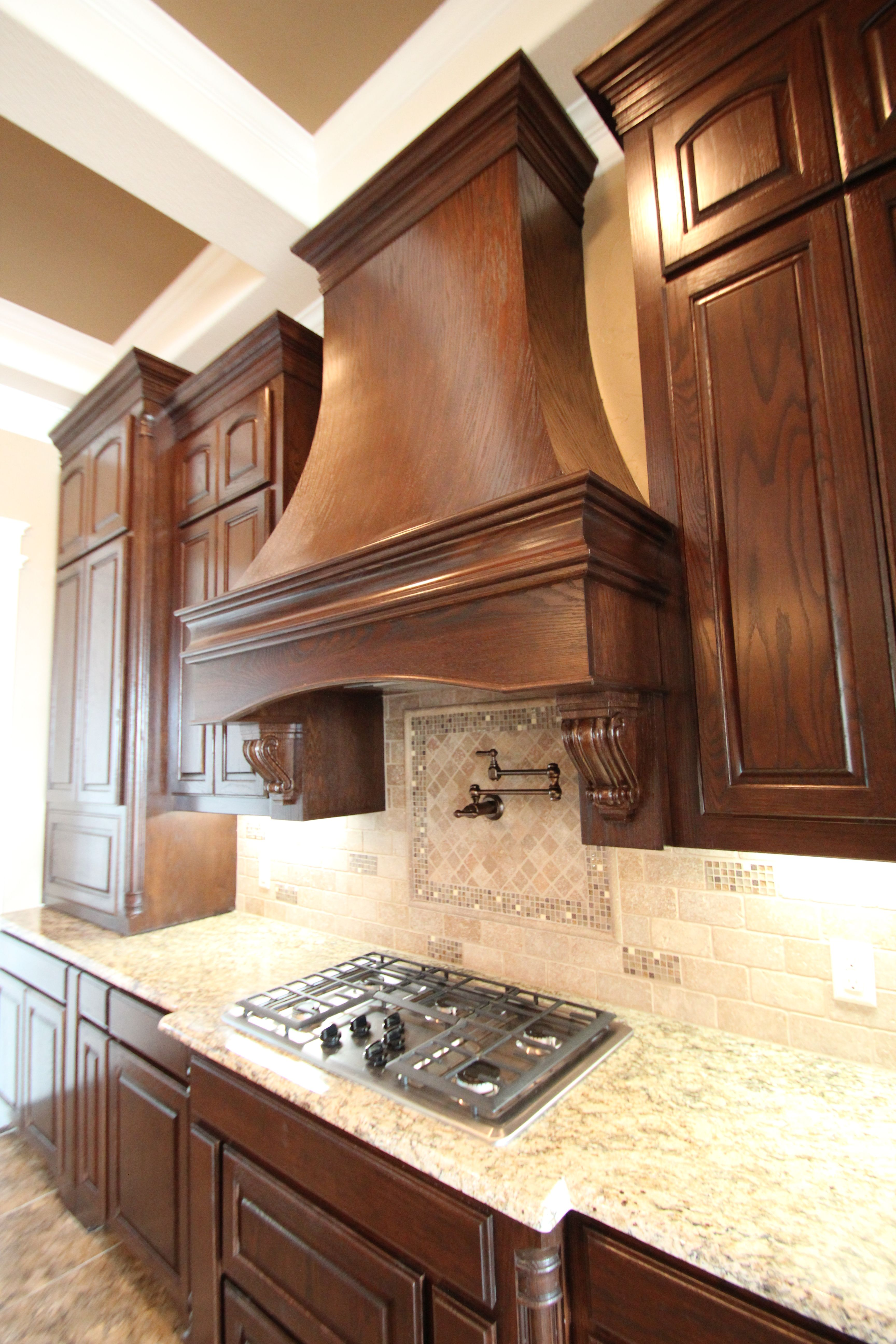 Kitchen Cabinets With Black Trim Couto Custom Home Stained Cabinet Finish Sherwin Williams